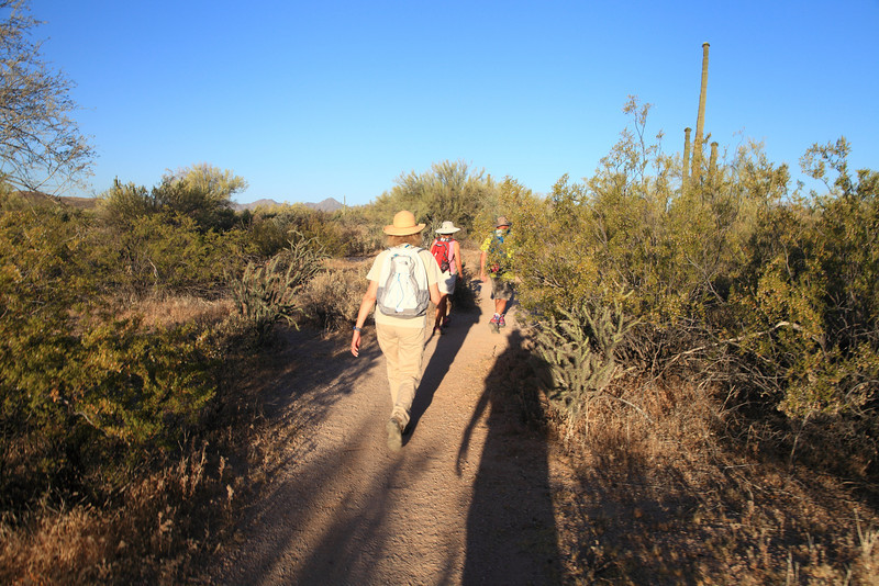 Friday Fitness Hike - June 6th 2014 -  North Trail and Verde trail - McDowell Mountain Regional Park